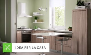 Cucina Con Finestra A Nastro. Cool Tende A Finestra Ikea Con Gallery ...