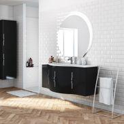 mobili bagno: prezzi e offerte mobiletti bagno sospesi o a terra 4 - Arredo Bagno Leroy Merlin