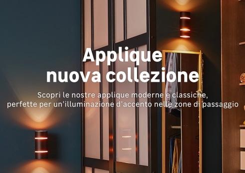 Plafoniera Led Quadrata Leroy Merlin : Illuminazione: offerte illuminazione interni da giardino solare