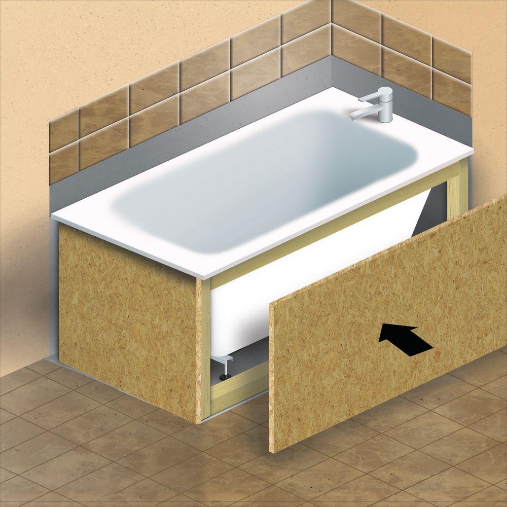 Smontaggio Vasca Da Bagno.Come Installare Una Vasca Da Bagno Guide E Tutorial Leroymerlin