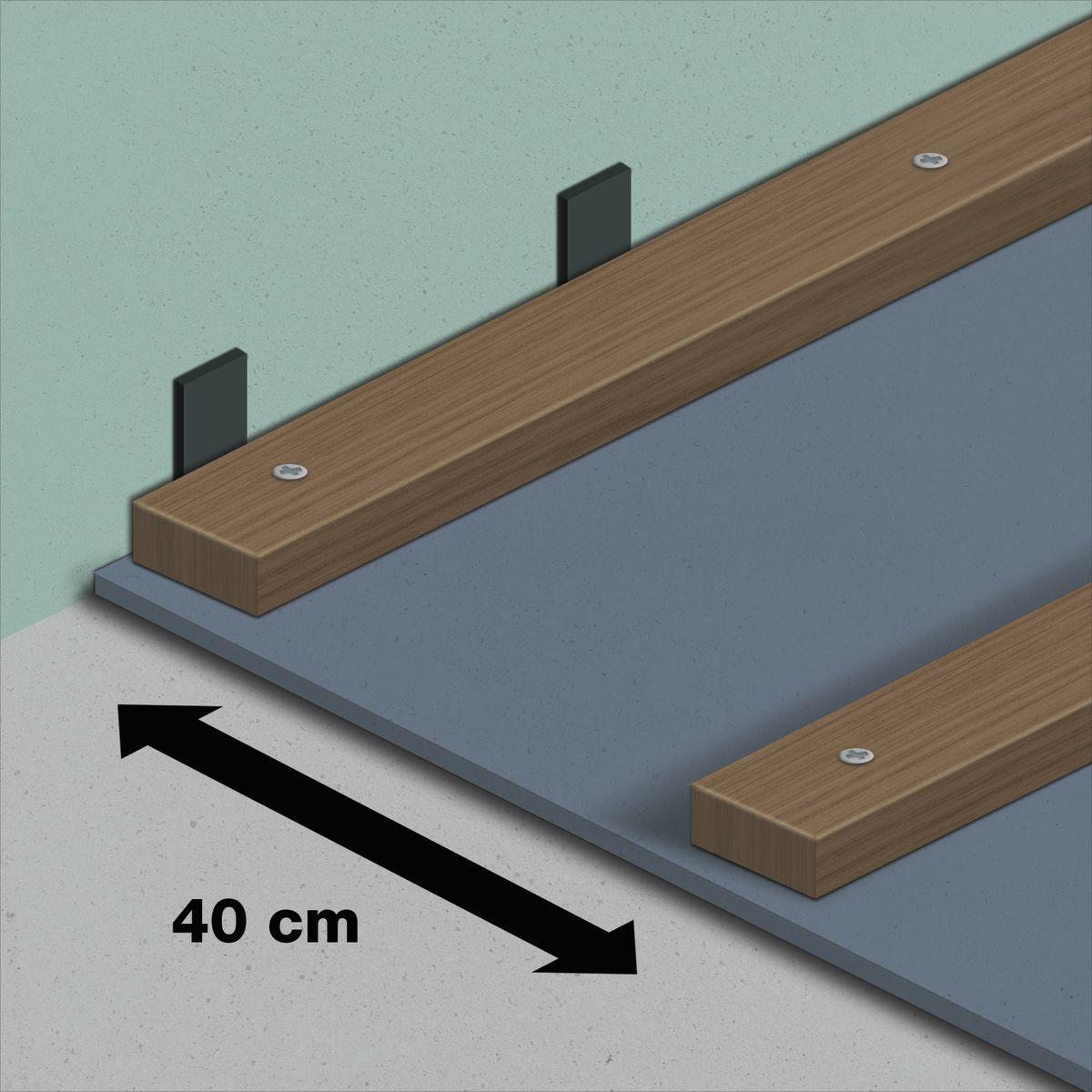 Come posare pavimento in legno esterno su travetti fai da for Pavimento legno esterno leroy merlin