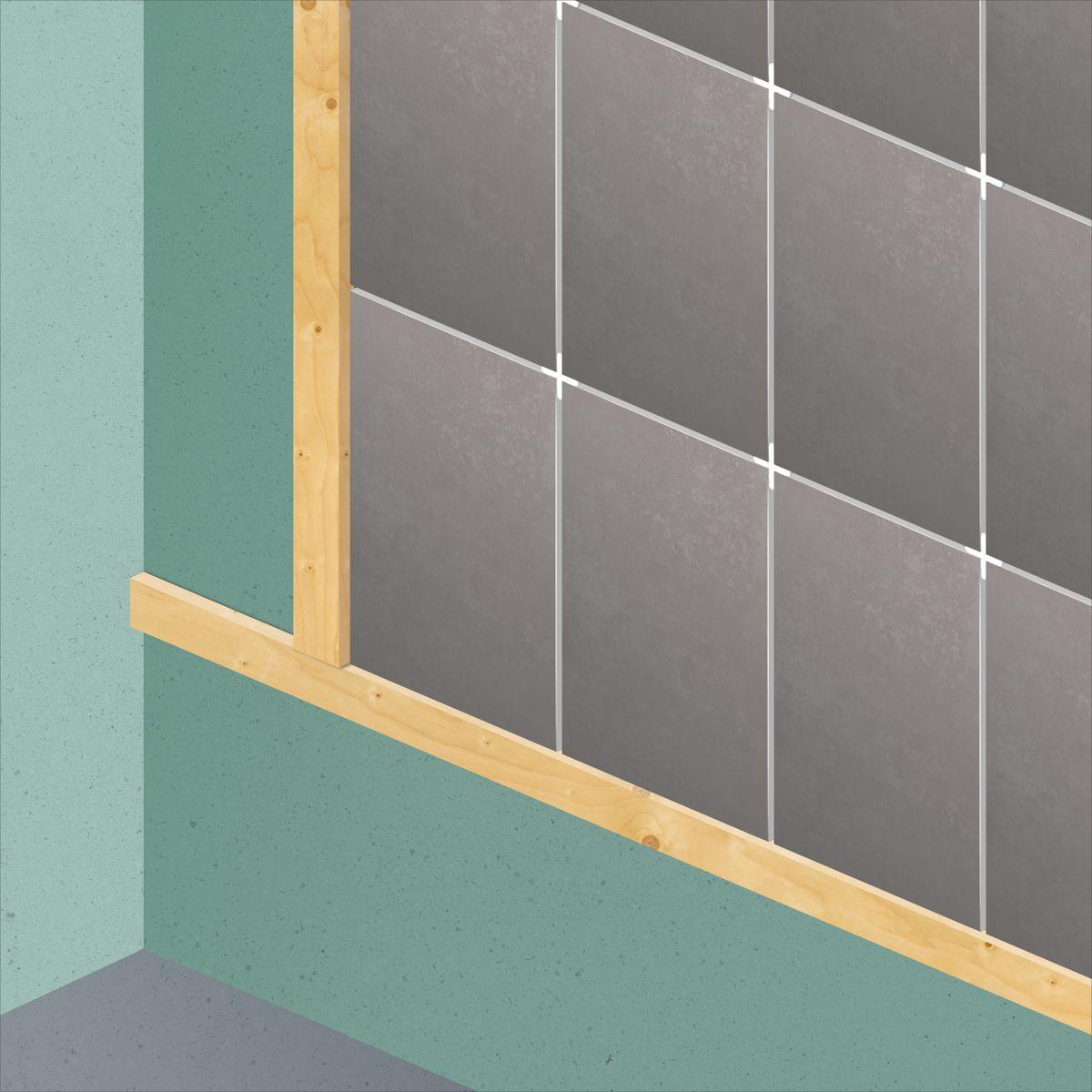 Come posare le piastrelle da rivestimento guide e tutorial leroymerlin - Posare piastrelle bagno ...