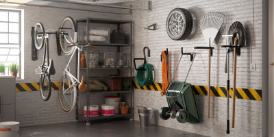 Elegant Inspiration_garage_da_riorganizzare. Garage