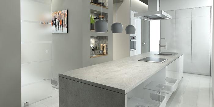 Come creare una cucina con isola grande e accogliente fai da te ...
