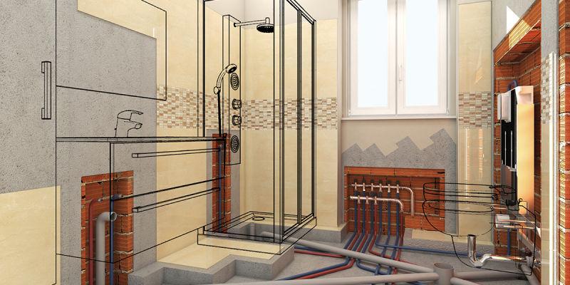 Idee per ristrutturare il bagno di casa fai da te leroy - Rifare il bagno di casa ...