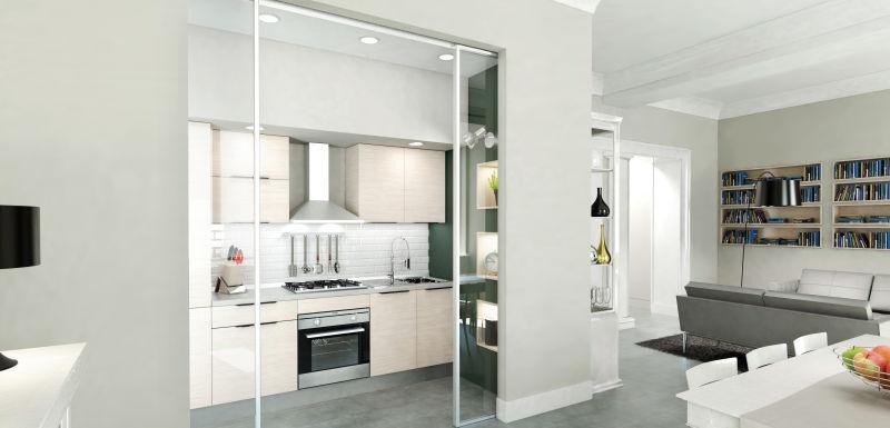 Come realizzare una cucina a scomparsa nella tua zona for Cucina 1 80