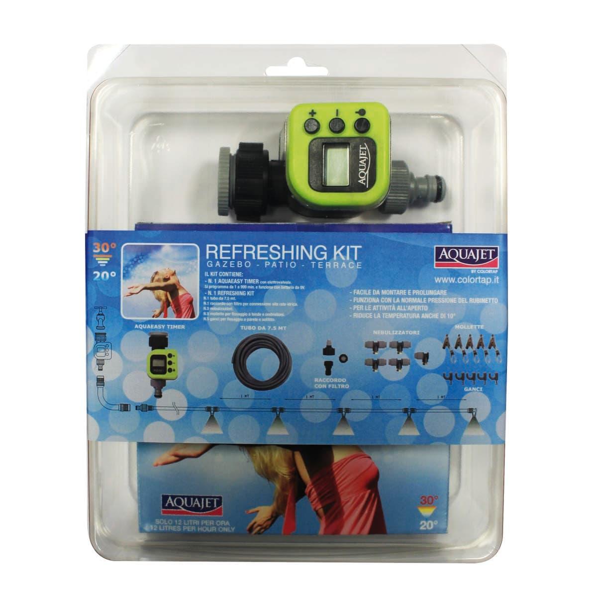 Kit Nebulizzazione Timer Aquajet Prezzi E Offerte Online Leroy Merlin