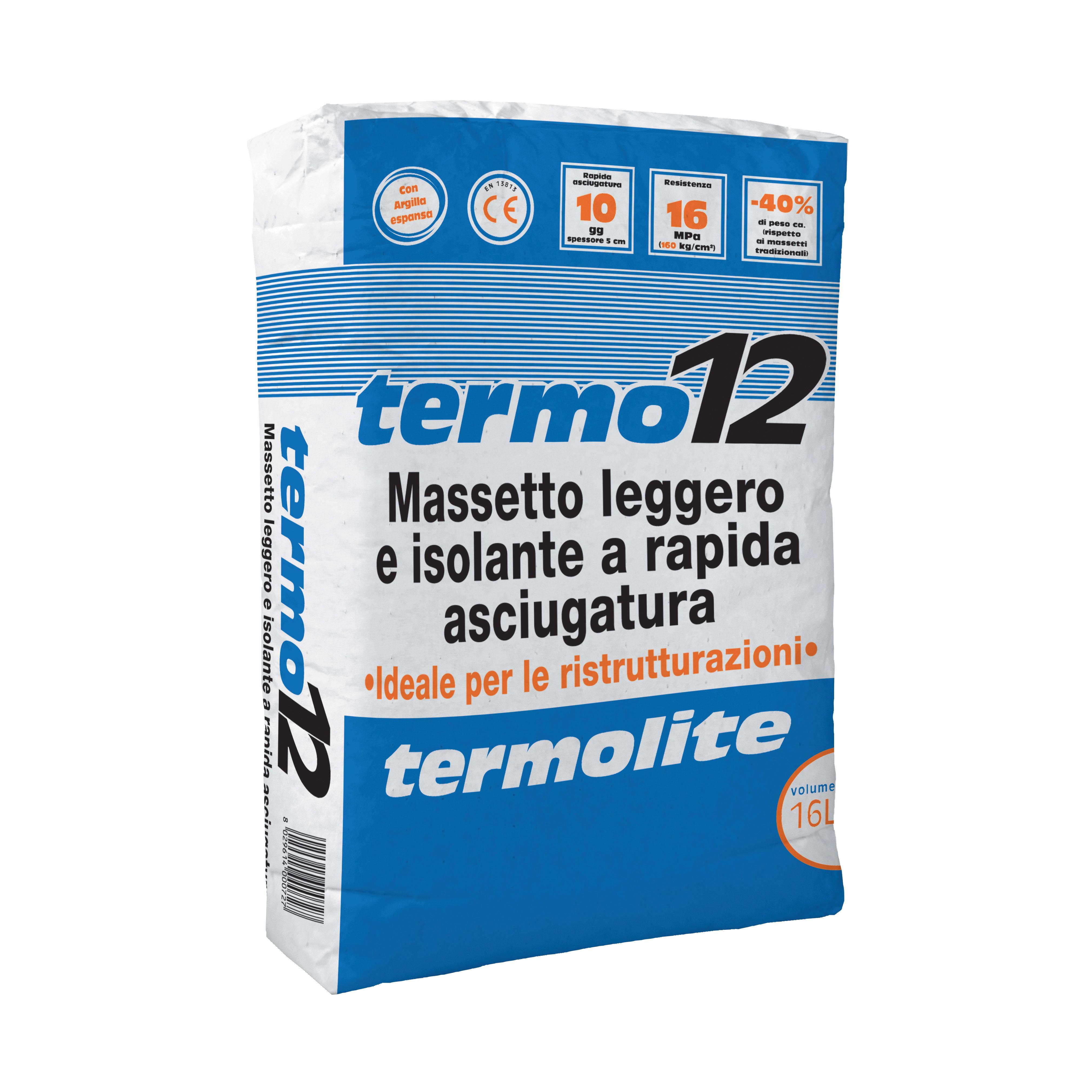 Massetto Alleggerito Termo12 16 L Prezzi E Offerte Online Leroy Merlin