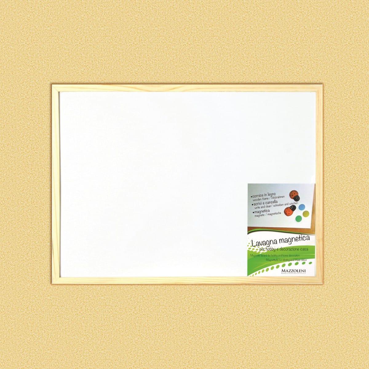 Lavagna Magnetica Cornice Legno 45 X 30 Cm Prezzi E Offerte Online