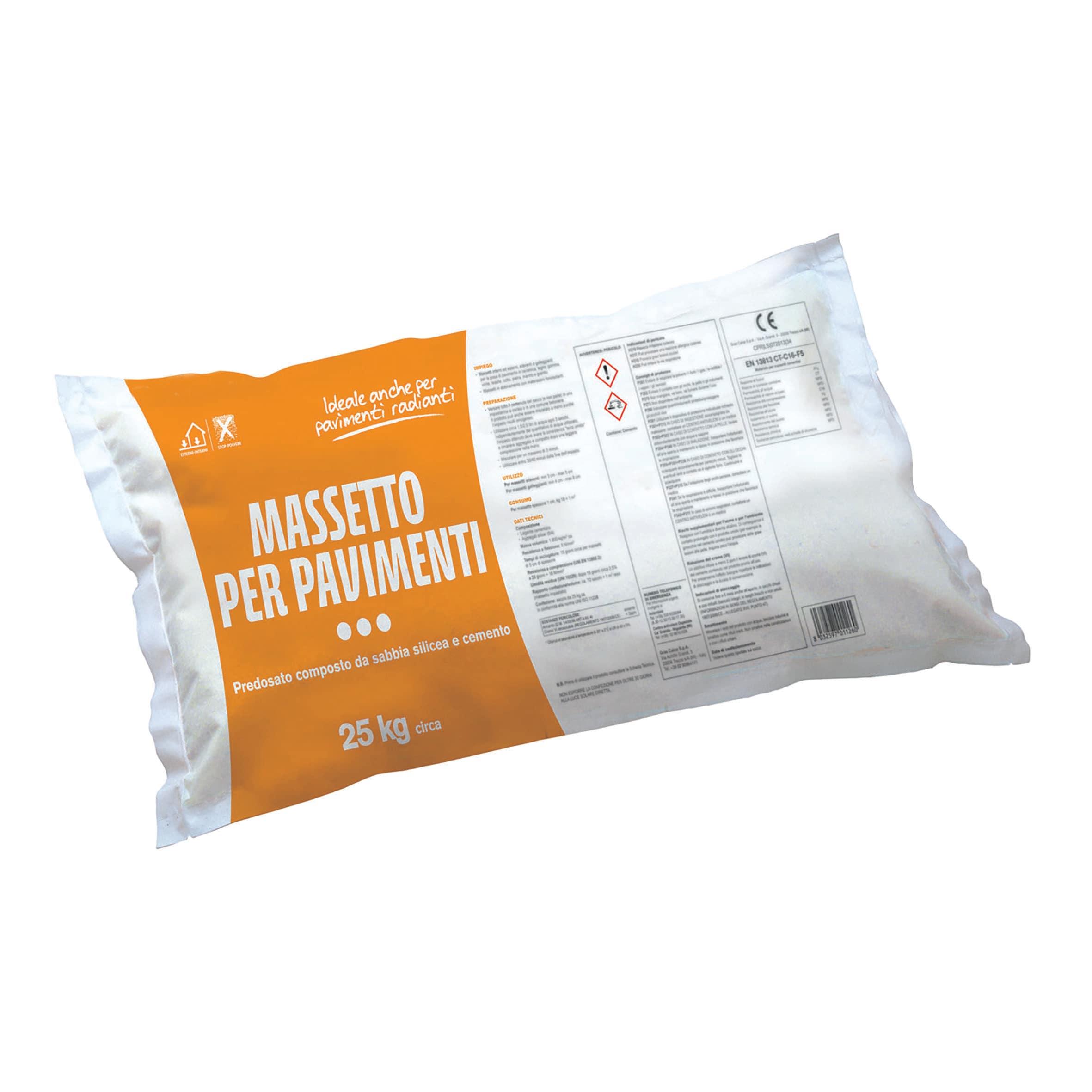 Massetto Per Pavimenti 25 Kg Prezzi E Offerte Online Leroy Merlin