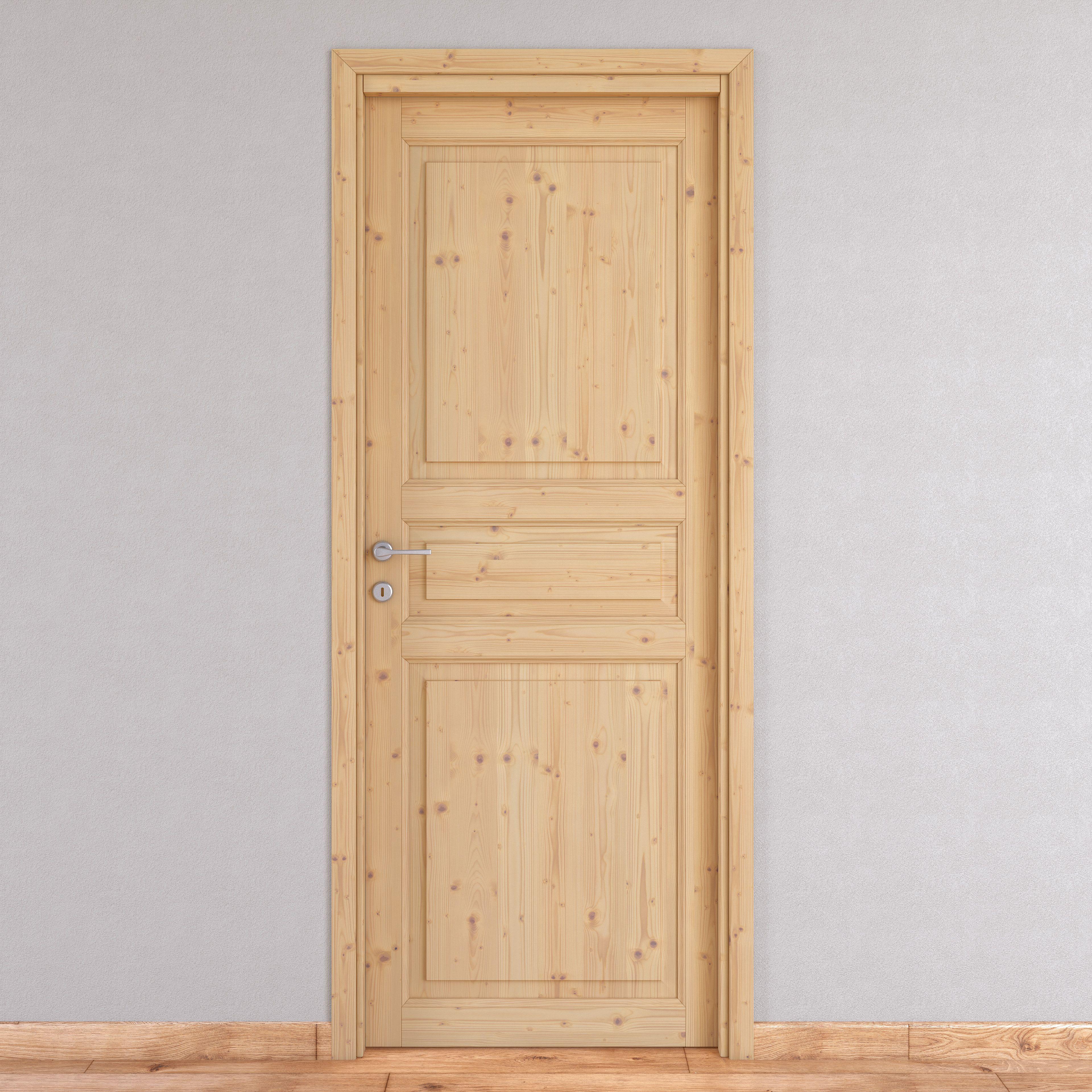 Porta Da Interno Battente Beethoven Grezza 70 X H 210 Cm Reversibile