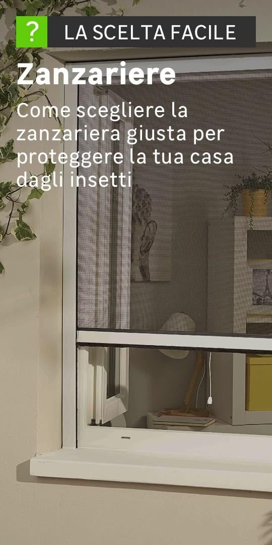 Zanzariere prezzi zanzariere magnetiche plissettate for Ikea zanzariere