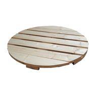 Piano tavolo tondo legno Ø 80 cm grezzo: prezzi e offerte online