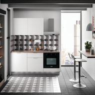 Creare una piccola cucina in bianco e nero fai da te | Leroy Merlin