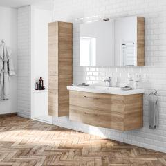 bagno mobile bagno solitaire rovere l 122 cm 35984893