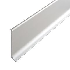 Pavimenti e rivestimenti-Battiscopa argento 60 x 10 x 200 mm-35863730