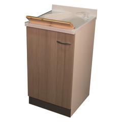 Bagno-Mobile lavatoio Plus BIANCO / LARICE L 45 x P 50 x H 85 cm ...
