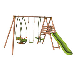 Giochi da giardino per bambini altalene tappeti elastici for Altalena da giardino leroy merlin