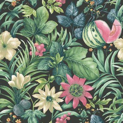 carta da parati fiori e frutta multicolor 10 m: prezzi e offerte online