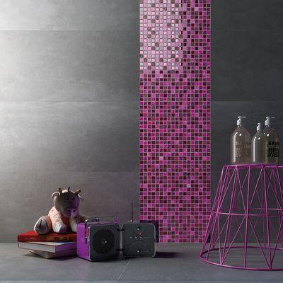 Mosaico Fucsia glit 30 x 30 cm rosa: prezzi e offerte online
