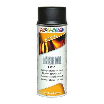 Smalto spray thermo alte temperature nero opaco 400 ml for Spray sanificante per condizionatori leroy merlin