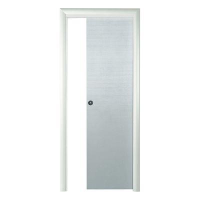 Porta da interno scorrevole Touch bianco matrix 70 x H 210 cm ...