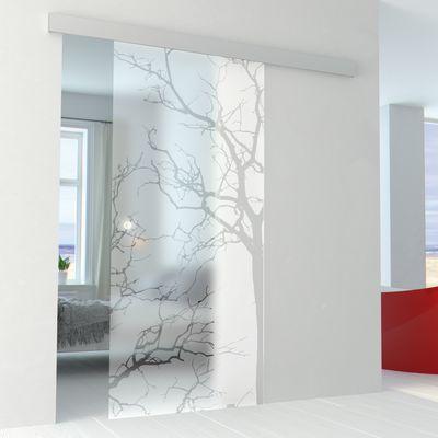 Porta da interno scorrevole Autumn/binario Alu 86 x H 215 cm ...