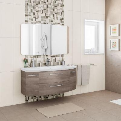 Mobile bagno Cassca rovere terra L 121 cm: prezzi e offerte online