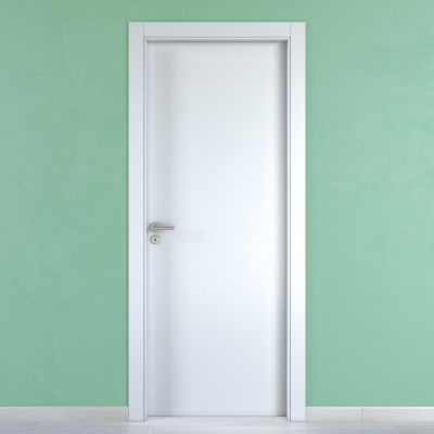 Porta da interno battente Cream bianco 80 x H 210 cm reversibile ...