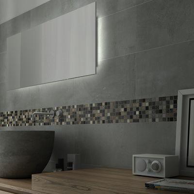 Mosaico greyin 30 x 30 bianco grigio marrone beige prezzi e offerte online - Piastrelle bagno mosaico prezzi ...