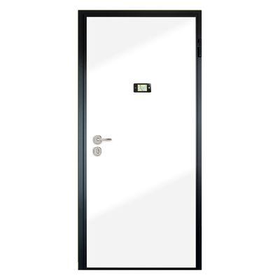 Porta blindata Schumy noce L 80 x H 210 cm dx: prezzi e offerte online