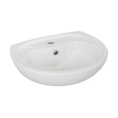 Lavabo da appoggio rettangolare Parete ø 0 x 16 cm bianco: prezzi ...