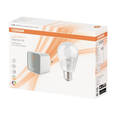 lampadina smart led osram e27 =60w goccia luce cct: prezzi e ... - Lampade Bambini Philips