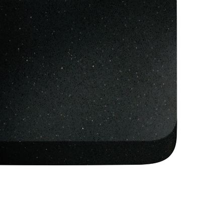 Piano cucina su misura quarzo Nero Stellar 2 cm: prezzi e offerte ...
