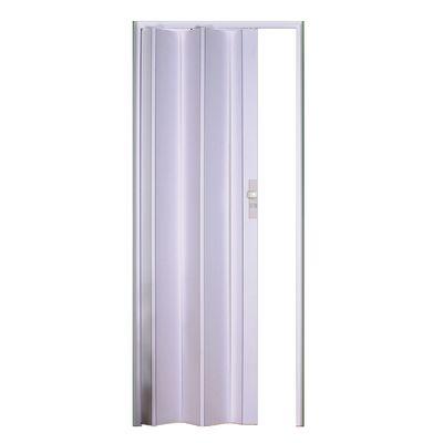 Porta a soffietto maya bianco l 83 x h 214 cm prezzi e for Leroy merlin porte a soffietto