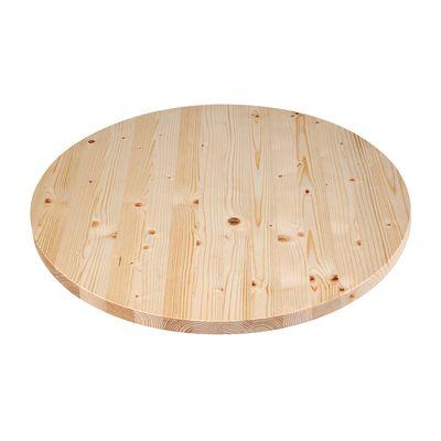 Piano tavolo tondo legno Ø 120 cm grezzo: prezzi e offerte online