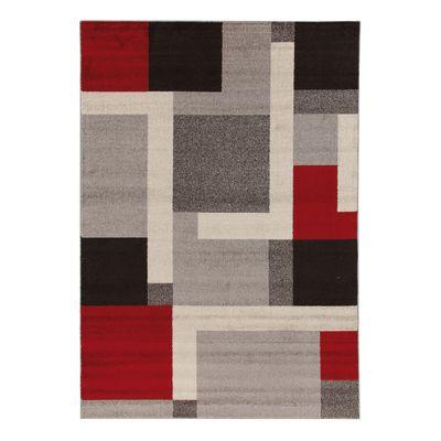 Tappeto Casa grey riquadri multicolore 200 x 300 cm: prezzi e ...