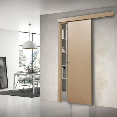 Porta da interno scorrevole Practical filomuro grezzo 70 x H 210 cm ...