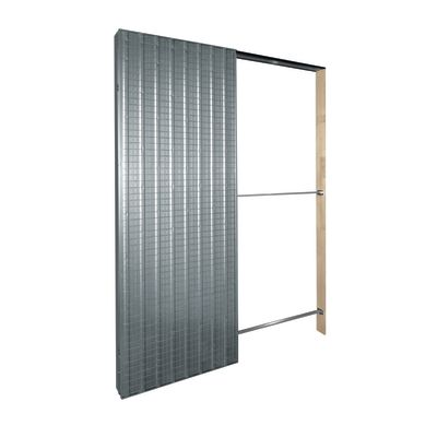 Controtelaio porta scorrevole Top Slide per intonaco 80 x 210 cm ...