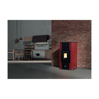Termostufa a Pellet Betta 17 kW bordeaux: prezzi e offerte online