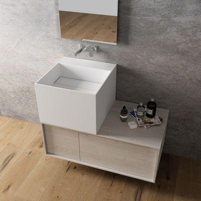 Lavabo da appoggio Cube bianco: prezzi e offerte online