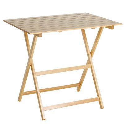 Tavolo pieghevole King, 80 x 60 cm faggio: prezzi e offerte online