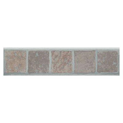 Pavimenti E Rivestimenti Battiscopa Selciato Beige,marrone,ocra 8 X 33,3