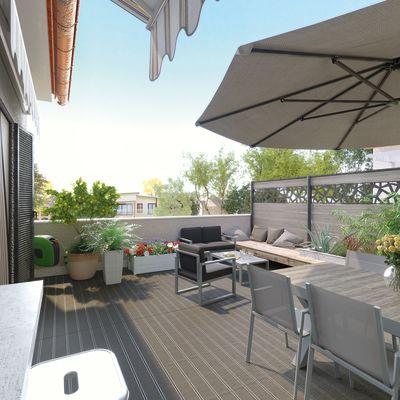 Emejing Ombrellone Terrazzo Contemporary - Modern Home Design ...