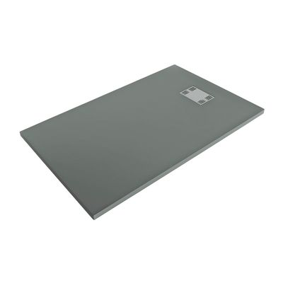 Piatto doccia resina Sensea Slate 70 x 100 cm grigio: prezzi e ...