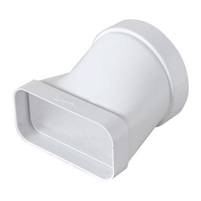 Raccordo piatto/tondo per tubo con diametro 10 cm L 6 - 12 cm ...