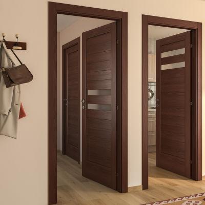 Porta da interno battente Malawi 1 80 x H 210 cm dx: prezzi e ...