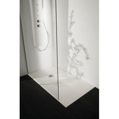 Piatto doccia resina Liso 120 x 70 cm bianco: prezzi e offerte online