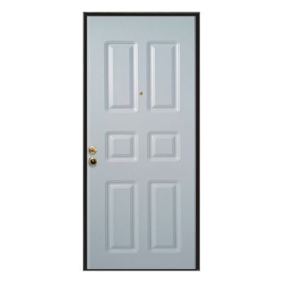 Porta blindata Steel bianco L 90 x H 210 cm dx: prezzi e offerte online
