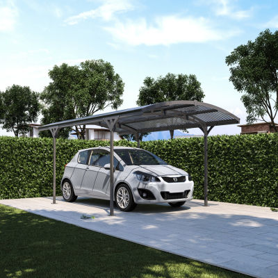 Carport Lucca copertura trasparente 4,95 x 2,88 m: prezzi e ...
